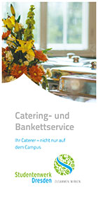 "Cover Flyer ""Catering- und Bankettservice"""