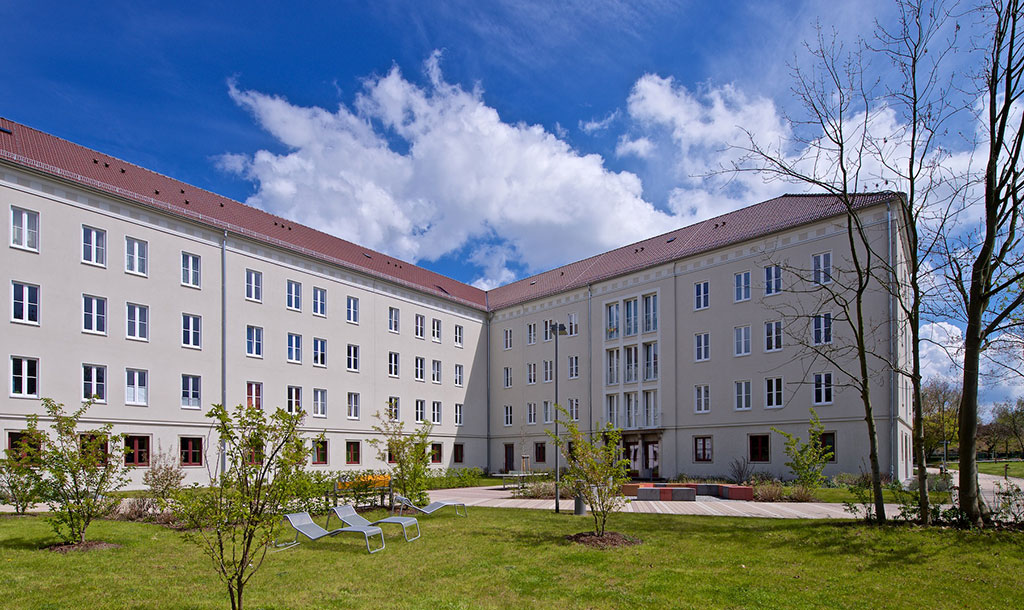 Hall of residence F – guest apartments in Zittau